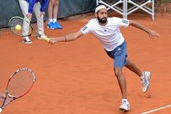 Adil Shamasdin (Tennisspieler von Kanada) spielt am Atp Lizenzfreie Stockfotografie