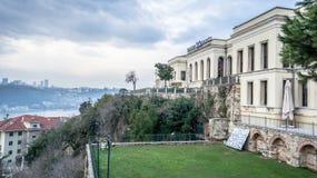 Adile-Sultanspalast in Kandilli, Istanbul Adile Sultan Palace ist der ehemalige königliche Wohnsitz von Stockfotos