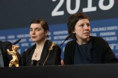 Adina Pintilie und Bianca Oana bei Berlinale 2018 Lizenzfreies Stockbild