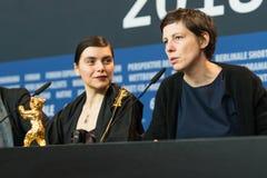 Adina Pintilie und Bianca Oana bei Berlinale 2018 Lizenzfreies Stockfoto