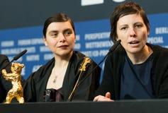 Adina Pintilie und Bianca Oana bei Berlinale 2018 Lizenzfreie Stockfotografie