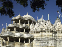 Adinath Temple at Ranakpur in India Stock Images