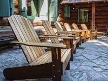 Adirondack椅子 免版税库存照片