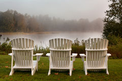 Adirondack椅子 库存图片