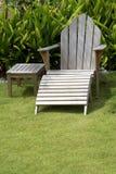adirondack έδρα ξύλινη Στοκ φωτογραφία με δικαίωμα ελεύθερης χρήσης