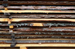 Adirondack-Abstellgleisbretthintergrund Stockbilder