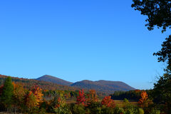 Adirondack Autumn Landscape Stock Photos