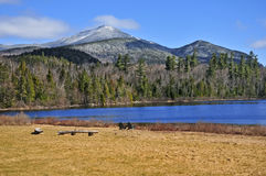 Adirondack berg, New York stat arkivbilder