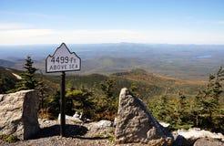 Adirondack Berge im Fall Stockfotografie