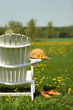 Adirondack chair Stock Photos