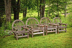 Adirondack Chairs Stock Photography