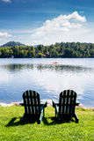 Adirondack chairs Stock Photos