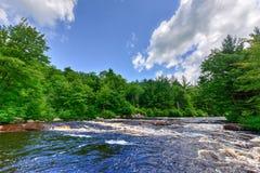 Adirondack-Fluss Stockfoto