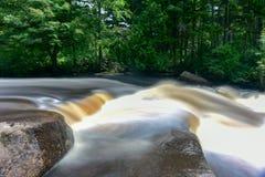 Adirondack-Fluss Lizenzfreies Stockbild