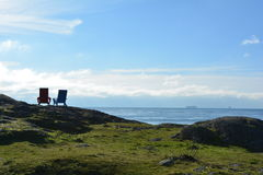 Adirondack gór krajobraz Fotografia Royalty Free