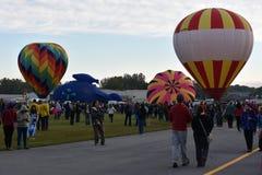 2016 Adirondack gorącego powietrza balonu festiwal Fotografia Royalty Free