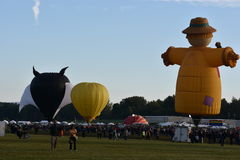 2016 Adirondack gorącego powietrza balonu festiwal Obrazy Stock