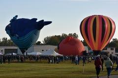 2016 Adirondack gorącego powietrza balonu festiwal Obraz Royalty Free
