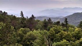 View atop Poke O Moonshine Mountain New York stock photos
