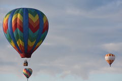 The 2016 Adirondack Hot Air Balloon Festival. Held from Sep 22-25. Thousands of people attended the festival which is the largest of its kind on the East coast Stock Photography