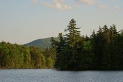 Adirondack jezioro obraz royalty free