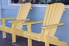 Adirondack Krzesła Zdjęcie Royalty Free