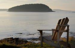 Adirondack krzesło zdjęcie royalty free