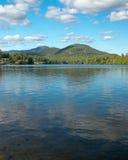 Adirondack Lake and Mountains Royalty Free Stock Image
