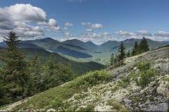 Adirondack Mountain View von Hopkins Mt Stockfotos