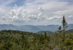 Adirondack Mountain View von Nonne-DA-GA-O Ridge Lizenzfreies Stockfoto