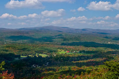 Adirondack mountains. Fall colors in Adirondack mountains Stock Photos