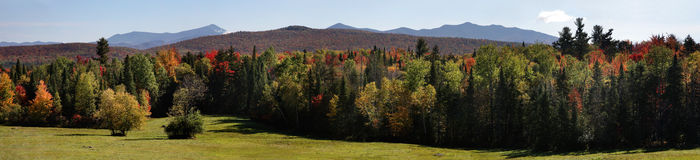 The Adirondack Mountains Stock Image