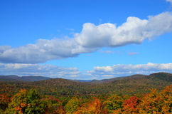 Adirondack Mountains autumn landscape Royalty Free Stock Images