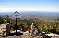 Adirondack Mountains in fall Stock Photography