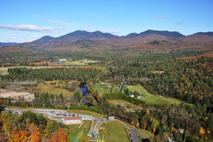 Adirondack Mountains in fall Stock Images
