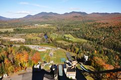 Adirondack Mountains in fall, New York, USA Royalty Free Stock Image