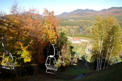 Adirondack Mountains in fall, New York, USA Royalty Free Stock Photography