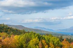 Colorful Adirondack Mountains royalty free stock photos