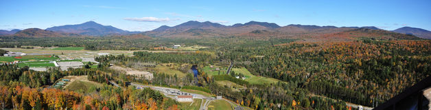 Adirondack Mountains Panorama Royalty Free Stock Images