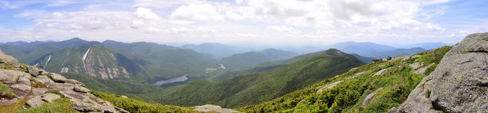 Adirondack Mountains Panorama, New York State, USA Stock Photos