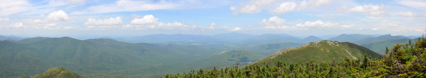 Adirondack Mountains Panorama, New York State, USA Royalty Free Stock Image