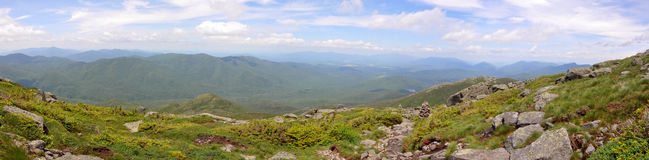 Adirondack Mountains Panorama, New York State, USA Stock Photo