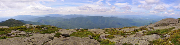 Adirondack Mountains Panorama, New York State, USA Stock Image