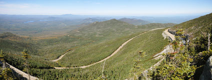 Adirondack Mountains panorama in summer Royalty Free Stock Photography