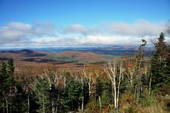 Fall Foliage in Adirondacks, New York, USA Stock Photography