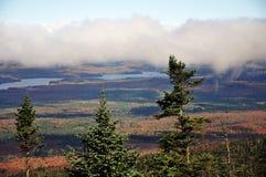 Fall Foliage in Adirondacks, New York, USA Stock Photos