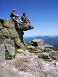 Adirondack Overlook Royalty Free Stock Photo