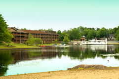 Adirondack resort Stock Images