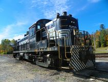 Adirondack Scenic Railroad road switcher car Royalty Free Stock Images