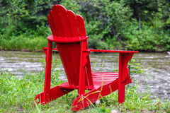 Adirondack-Stühle Lizenzfreies Stockbild